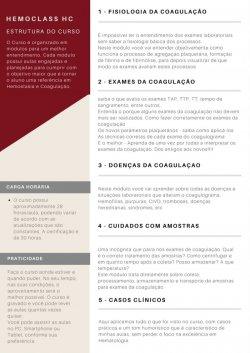 HemoClass - HC - Hemostasia e Coagulação